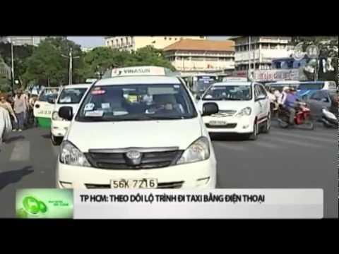 VTC14_TP HCM theo dõi lộ trình đi taxi bằng điện thoại