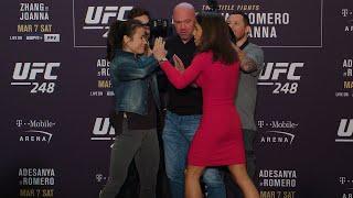 UFC 248: Media Day Faceoffs