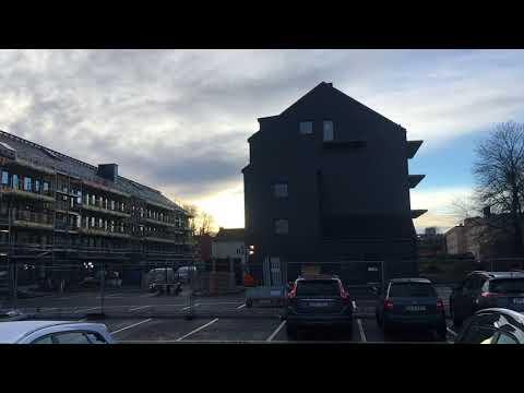 Жизнь в Швеции. Детский сад. Гуляем, показываем наш район. Где живут старики...