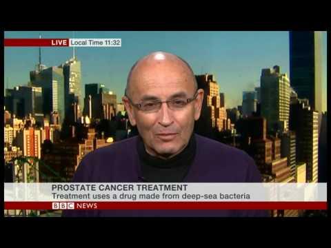 Prostate cancer treatment BBC NEWS interview with Prof. Scherz