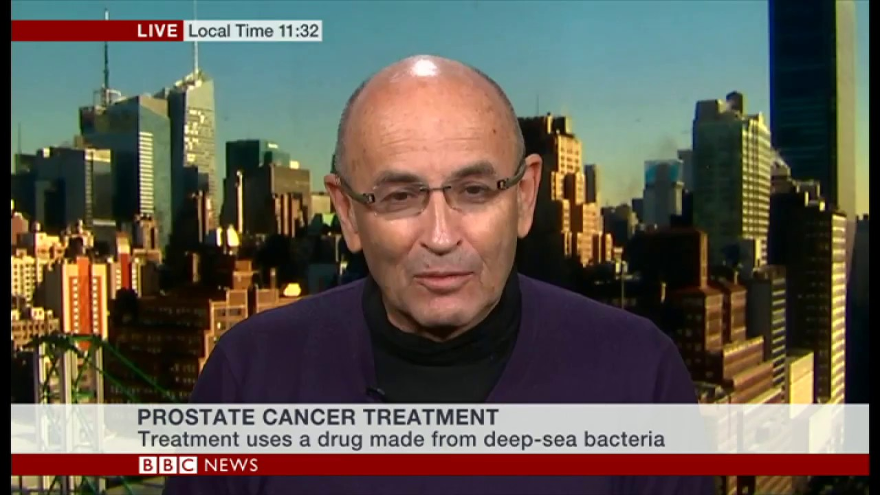 Prostate cancer treatment BBC NEWS interview with Prof  Scherz