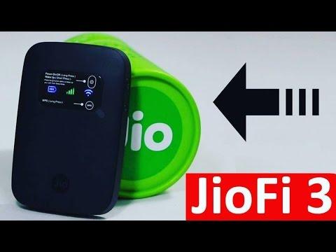 JioFi 3 : Reliance Jio 4G Pocket Router & Wireless Pendrive