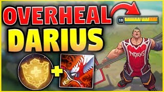 KOREAN OVERHEAL DARIUS! FULL HP IN 2 SECONDS! (MAX HEALING) - League of Legends