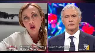 Giorgia Meloni: 'sono Preoccupata Per Il Futuro Dell'italia E Perché Il Nostro Sistema ...