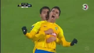 Golo de Eduardo: Estoril (1)-0 Porto (Liga 18ªJ)