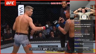 """Stephen """"Wonderboy"""" Thompson reacts to getting knocked out"""