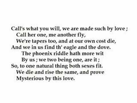 the quest for a true love in john donnes poem the canonization and foreigners song i want to know wh