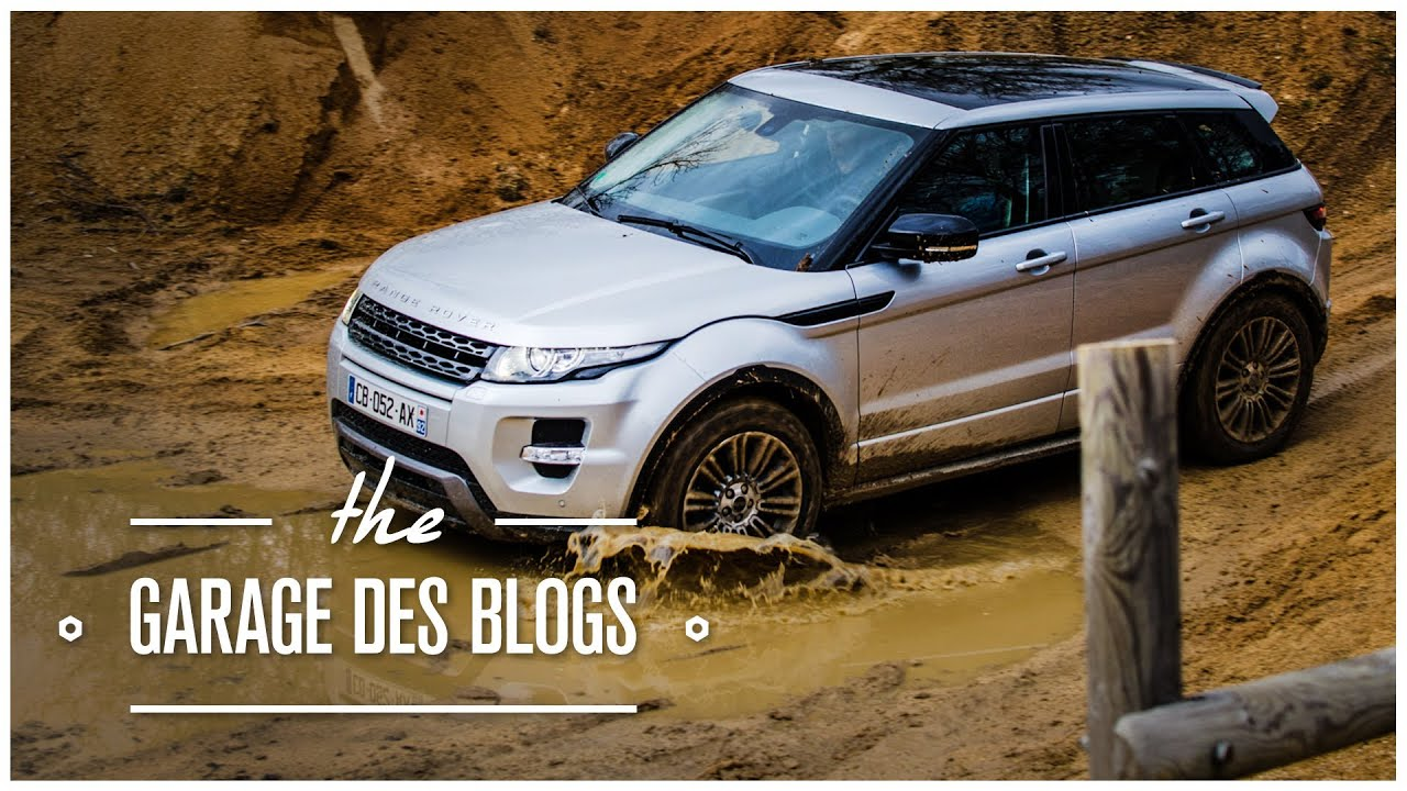 Range rover evoque sd4 4x4 le garage des blogs youtube for Garage de 4x4