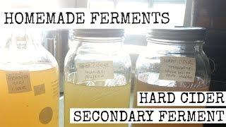 HOMEMADE FERMENTS • Hard Cider Secondary Ferment