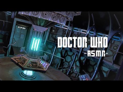 ~ASMR~ 11 Minutes In The Eleventh Doctor's TARDIS! | Landing/Take Off, Interior Sounds