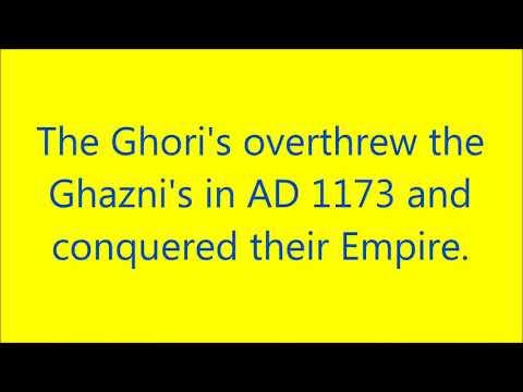 mahmud ghazni and muhammad ghori