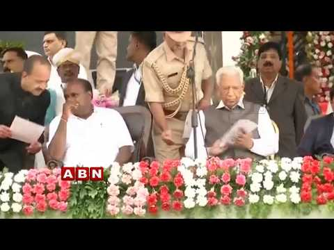 HD Kumaraswamy Takes Oath As Karnataka Chief Minister | ABN Telugu
