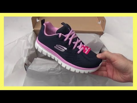 Murciélago Tristemente Electropositivo  Skechers Graceful Get Connected Trainers Unboxing & First Look Review -  YouTube