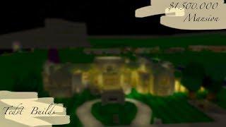 THE $1.500.000 Hatley Castle MANSION | Tour (Roblox Bloxburg)