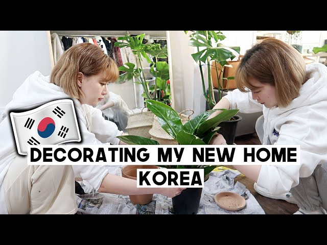 Decorating My New Home in Seoul, Korea (Satisfying lol) | Q2HAN