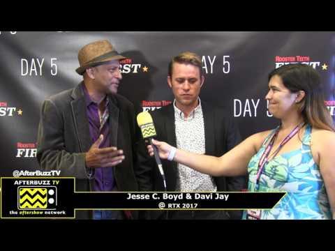 Jesse C  Boyd and Davi Jay I Day 5 Season 2 Premiere I RTX 2017