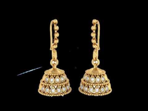 Gold Earrings Collection Diamond Earring Design Earring Designs clip14