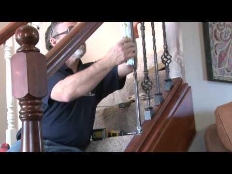Carolina Stair Supply   Rail Zip Clip Installation