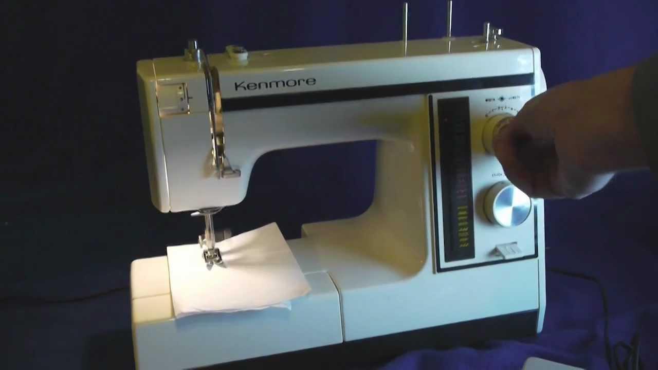kenmore 385 sewing machine