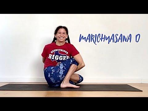 marichyasana d  ashtanga yoga with shana meyerson