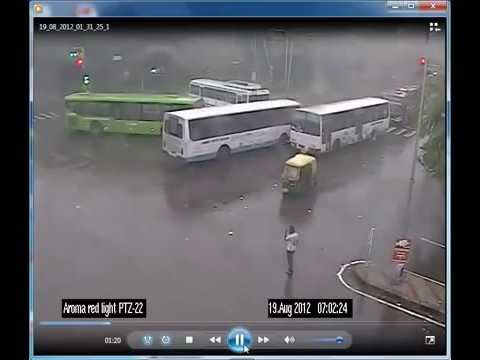 Haryana Roadways vs Delhi DTC Bus Accident Live