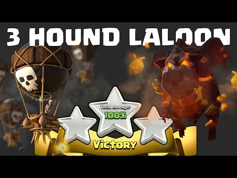 TH 11 3 STAR GUIDE | 3 Hound laloon on offset air defense base