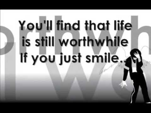 Michael Jackson Smile with Lyrics