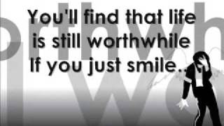 Michael Jackson Smile with Lyrics