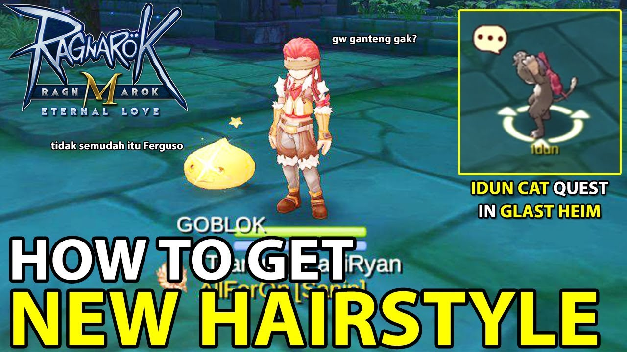 how to unlock new hairstyle in glast heim (idun quest) | ragnarok m