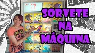 Máquinas automáticas que vendem sorvetes - Japão Nosso De Cada Dia thumbnail