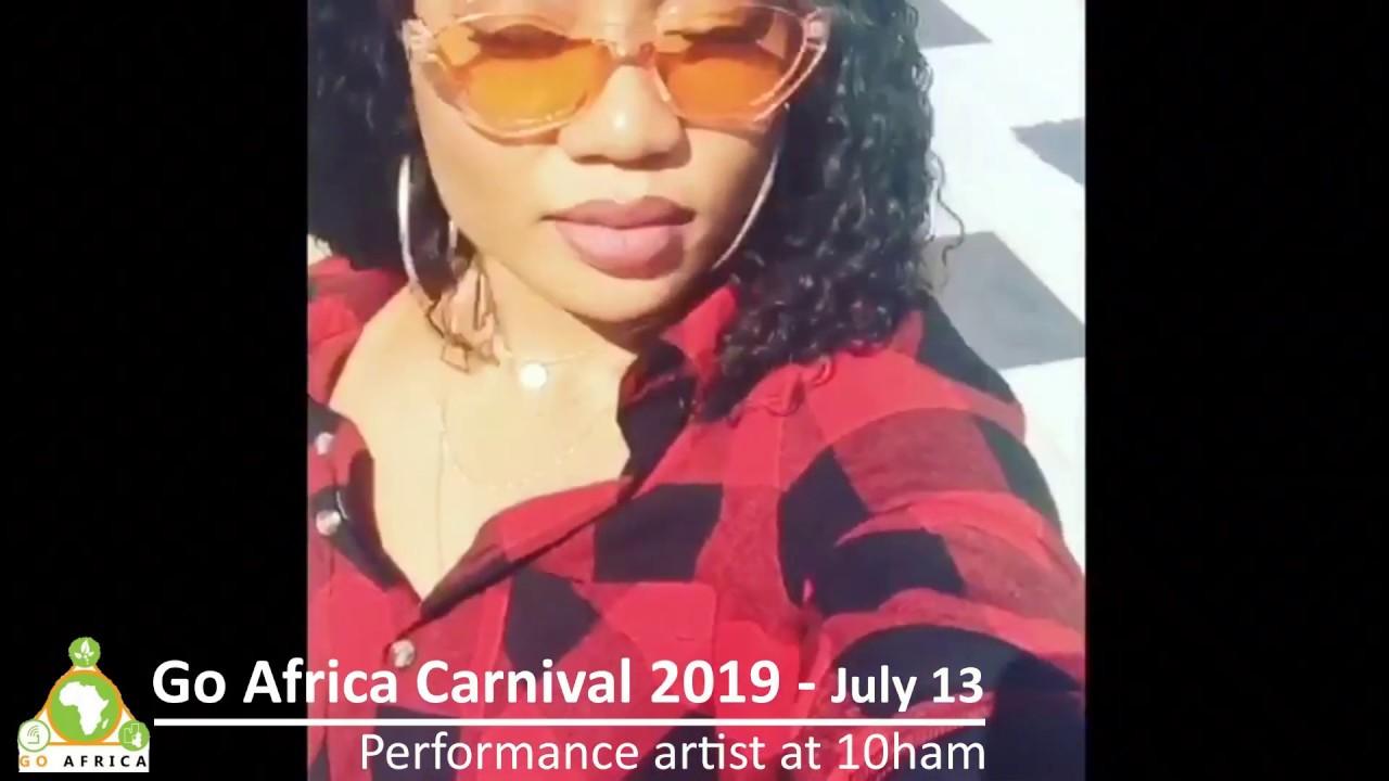 Artist performance - Go Africa Carnival 2019 - July 13 at 10ham Harlem NYC