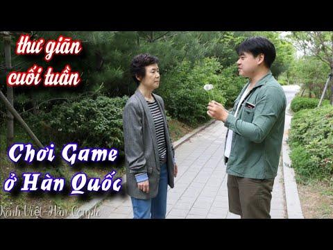 [Hàn Quốc] 3 mẹ con đi chơi game và kết quả cực sốc (phòng game ở Hàn Quốc thế nào?)