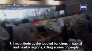 Mexico quake toll rises to 138 dead: government
