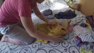 Как компактно сложить вещи в сумку и чемодан(, 2017-01-15T10:00:30.000Z)