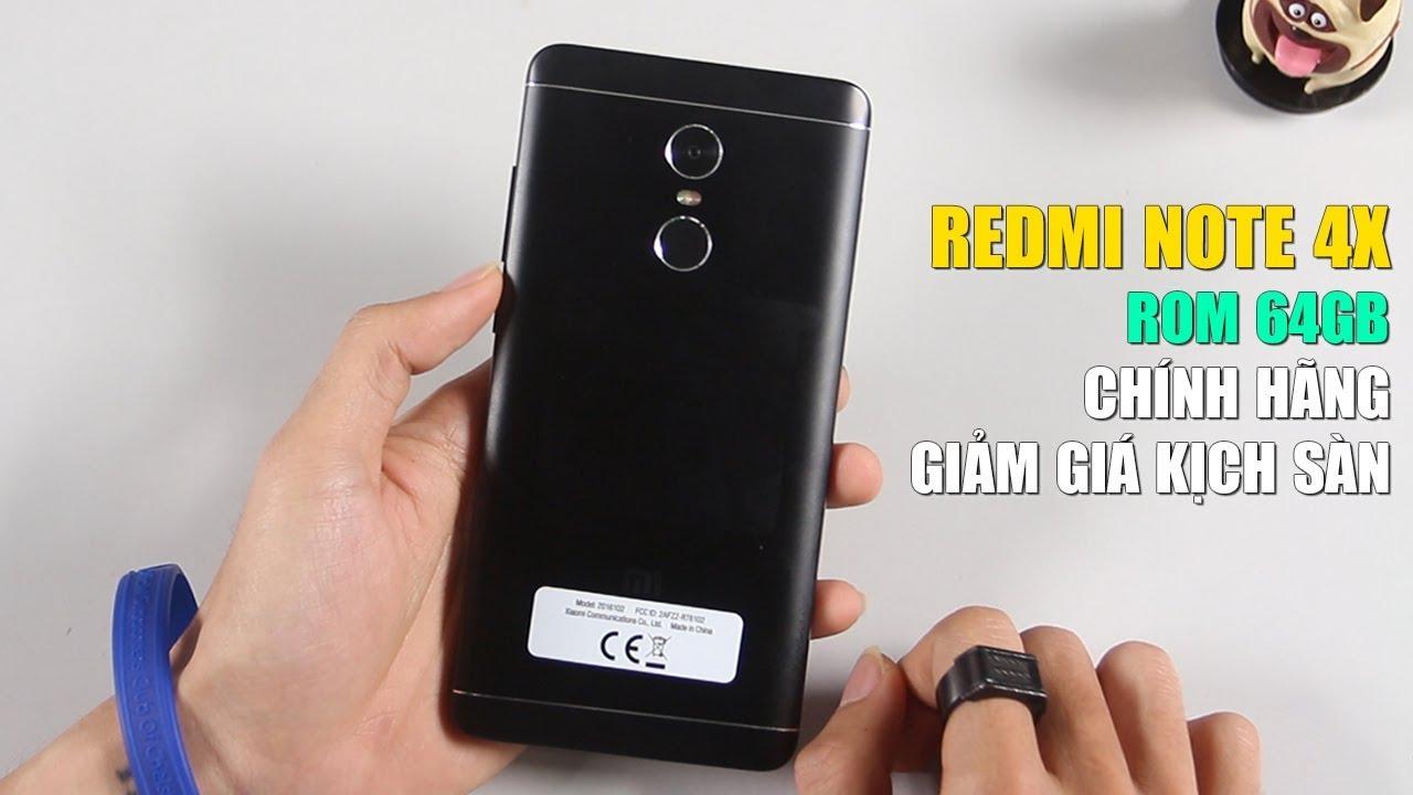 QUÁ SỐC: Xiaomi Redmi Note 4X CHÍNH HÃNG ROM 64GB GIÁ KHÔNG THỂ TIN NỔI