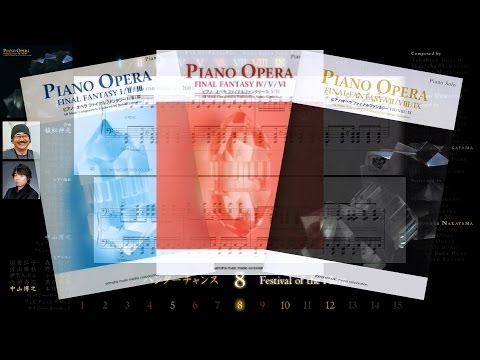 [Scrolling Sheet] Piano Opera Final Fantasy I-IX -Full Series 3 Albums-