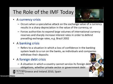 Week 11- The International Monetary System