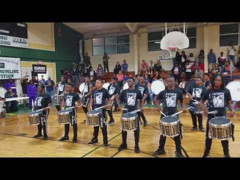 Benedict vs. Scsu Drumline Battle Pt. 1 (2017)