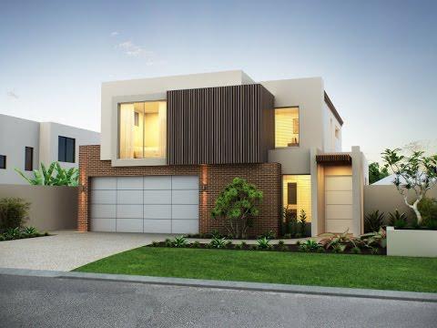 Fachadas de casas modernas de dos pisos youtube for Fachadas de casas de dos pisos
