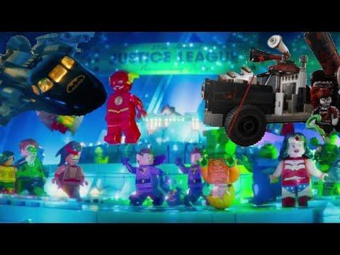 LEGO Batman Movie 2018 Sets List and Minifigures - YouTube