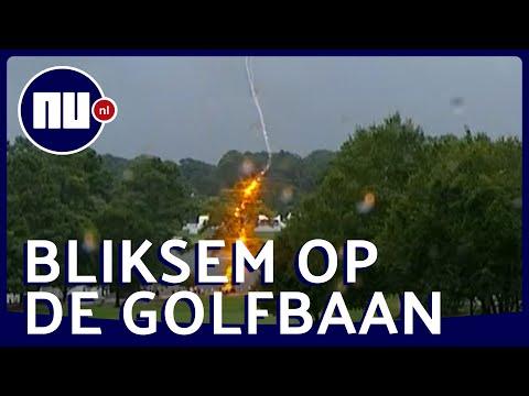 Golffans Gewond Door Bliksem: Inslag Tijdens Drukbezocht Toernooi In Atlanta | NU.nl