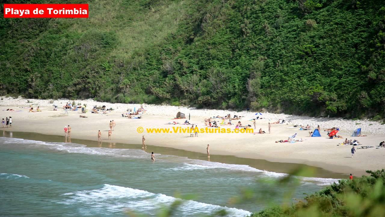 Playas Asturias: Playa de Torimbia - YouTube
