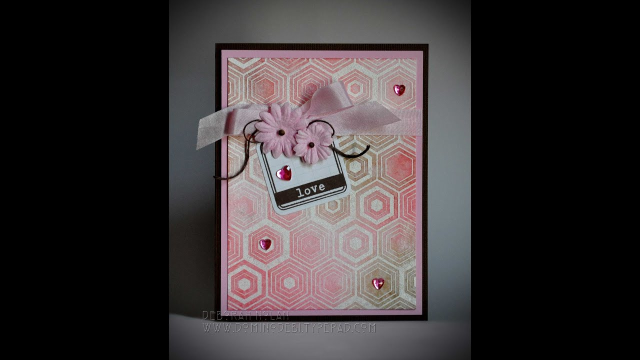 Handmade Greeting Card Love YouTube – Handmade Birthday Card for Lover