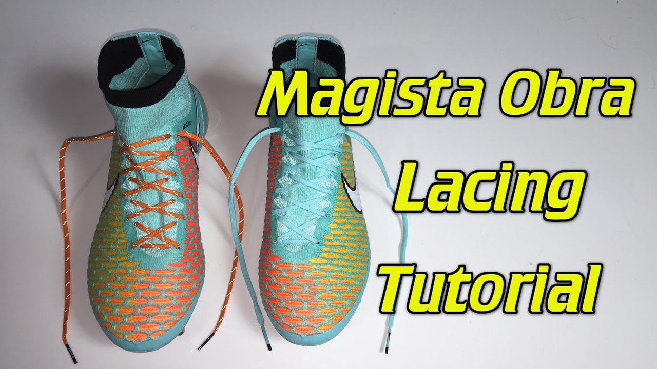 71939194acf How To Replace The Laces On The Magista Obra - SR4U Laces Tutorial ...