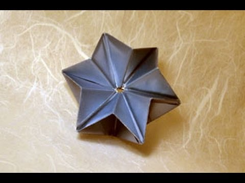 Origami Modular Star Instructions Origami Fun Youtube