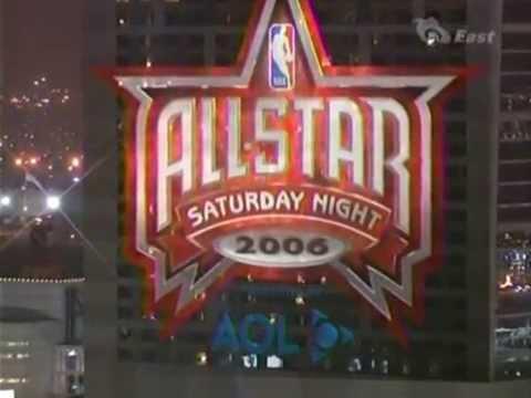 NBA All-Star Games 2006 - Saturday Night Intro