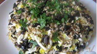 Салат из курицы с черносливом Дамский каприз