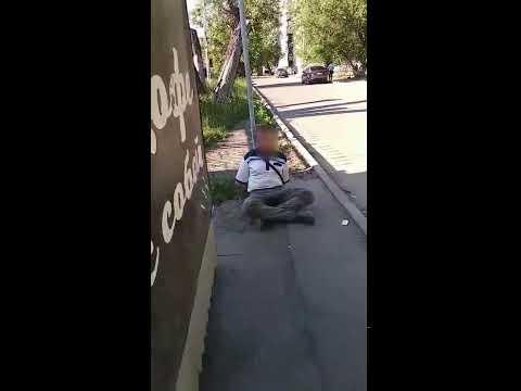 В Челябинске нетрезвый гражданин пообещал охранникам неприятности. Видео 20 июня 2019