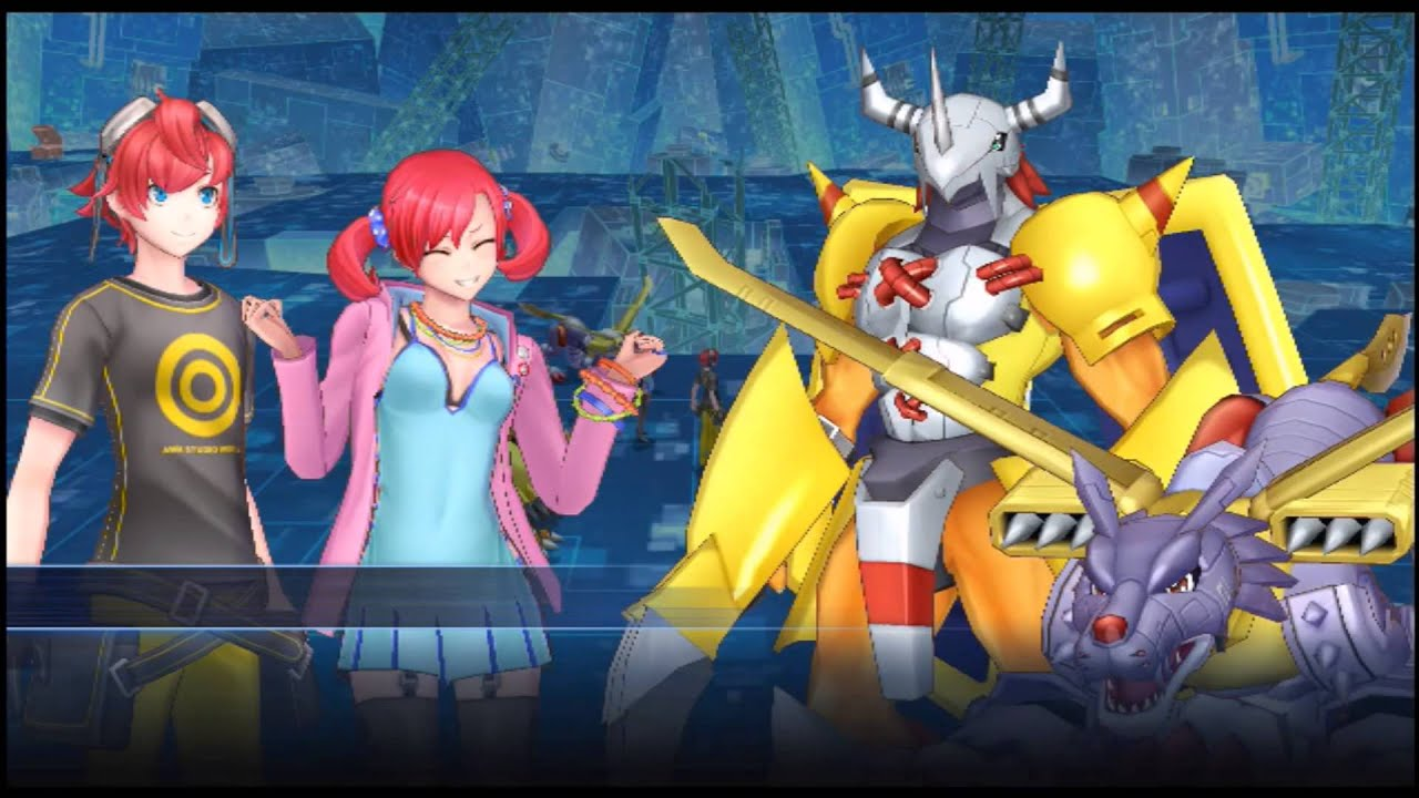 Digimon Story Cyber Sleuth Part 28 Nokia Gets Two Megas Youtube