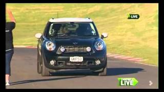 Dog Passed Driving Test In A Mini In New Zealand